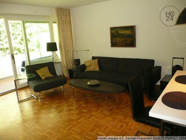 Aachen-Süd: Stilvoll-modern möbl. 2 Zi-Whng mit Balkon u. Garage in bester Lage