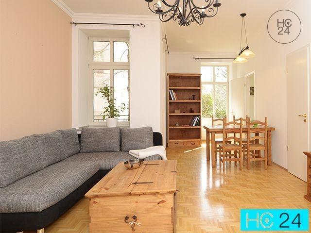 位于Gohlis的带2个房间的配家具公寓