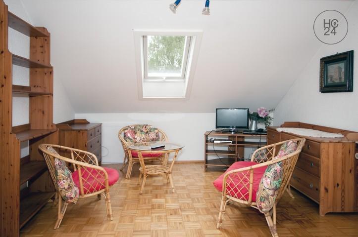 Möblierte Zweizimmer-Dachgeschosswohnung in Rastatt