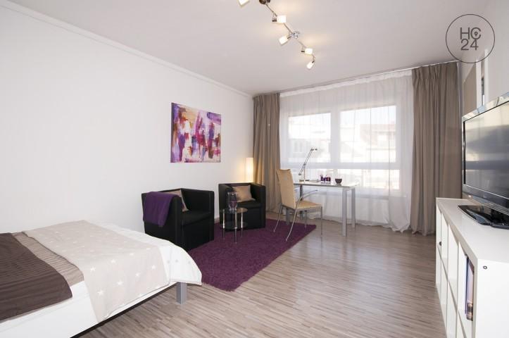 Sehr schöne, möblierte ein Zimmer Wohnung in Wasserturmnähe in Mannheim-Oststadt