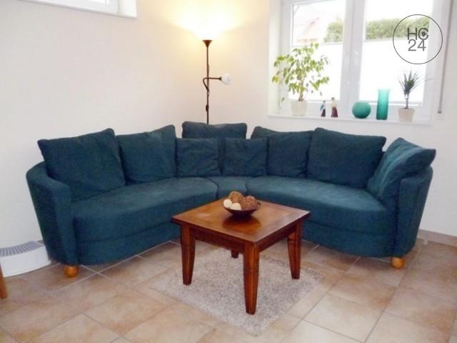 Umeblowane mieszkanie z 2 pokojami w Bad-Schoenborn