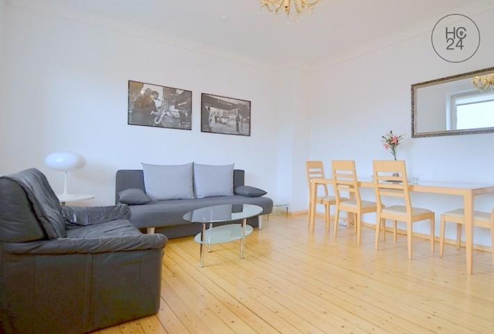 Modern möblierte 2-Zimmer Wohnung mit Balkon und WLAN in zentraler Lage Nürnbergs