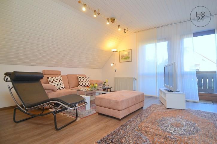 Sehr schön möblierte Wohnung mit Balkon, WLAN und Stellplatz im Osten Nürnbergs