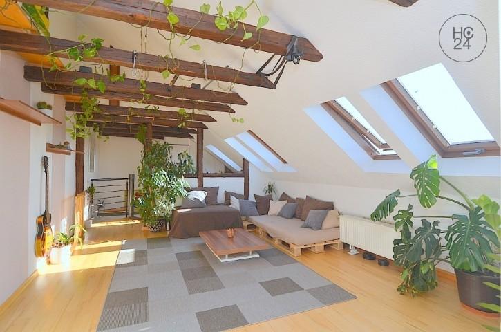 Exklusiv möblierte 5,5-Zimmer-Maisonette Wohnung im Nürnberger Stadtzentrum