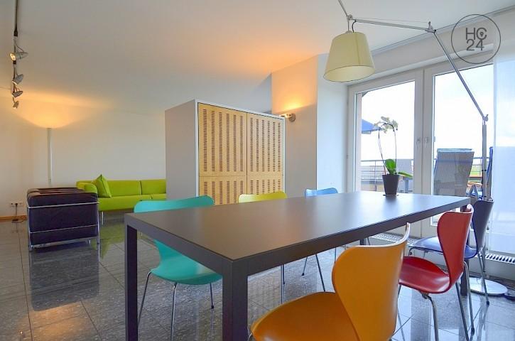 Exklusive und hochwertig möblierte Penthouse Wohnung in Stuttgart Degerloch