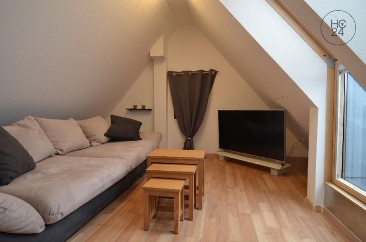 exklusive 2,5-Zimmer Dachgeschosswohnung in Eimeldingen