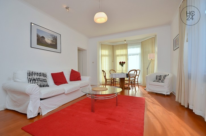 Furnished 3-room apartment with balcony and WLAN in Wiesbaden-Sonnenberg