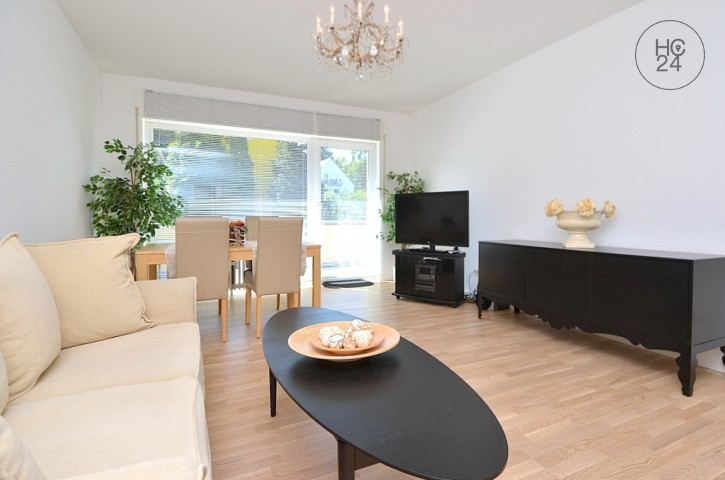 Modernly furnished 2-room apartment in top location, with balcony in Wiesbaden-Aukamm