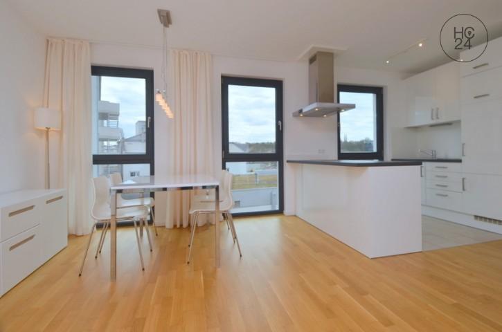 Modern möblierte 3 Zimmer Wohnung in Mainz