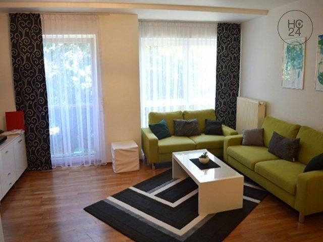 For rent is a furnished 3-room apartment in top location in Wiesbaden