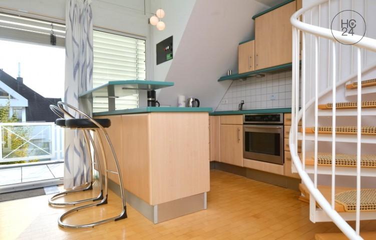 Helle und moderne Maisonette Wohnung in Wiesbaden