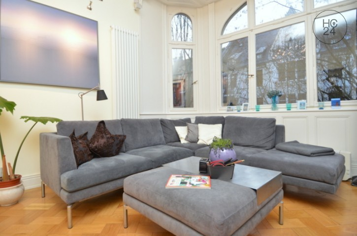 Möbliertes Zimmer mit W-Lan und Balkon in Wiesbaden - City