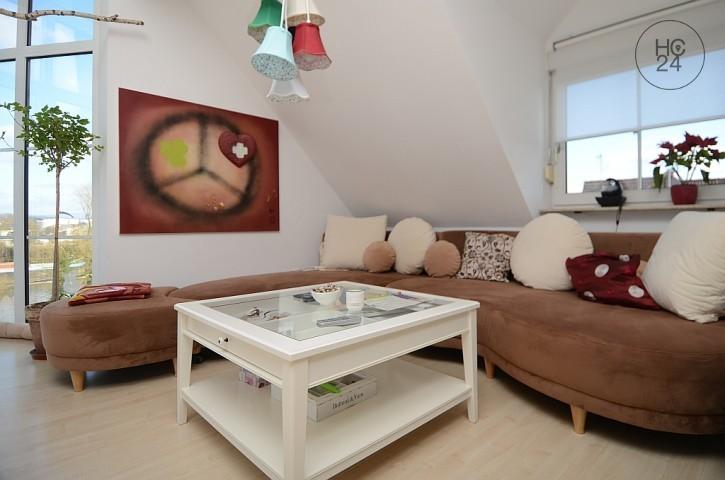 家具付き3部屋、Rüsselsheimの住宅