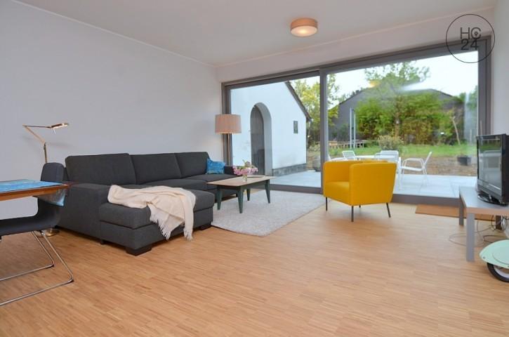 位于Oberstadt的带3个房间的配家具公寓